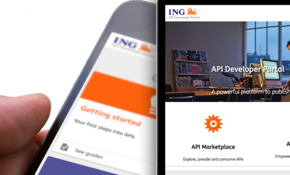 Portal for the digital integration of ING as a global bank