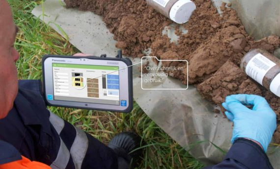 Time saving in soil research